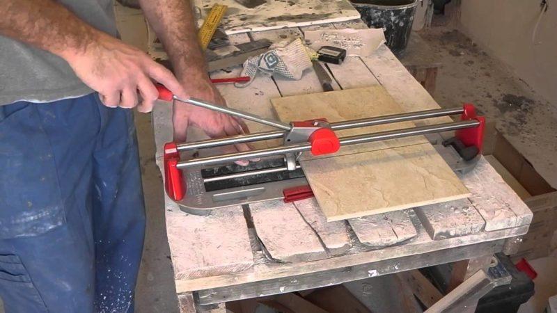 Как выбрать плиткорез для керамогранитной плитки