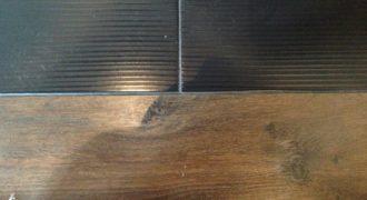 Делаем красивый, аккуратный стык между плиткой и ламинатом
