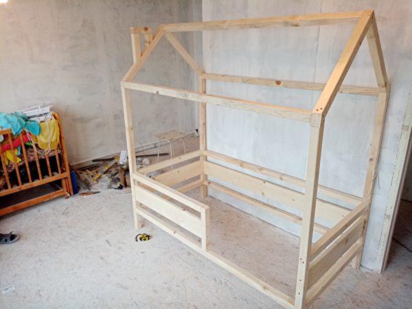 кроватка домик своими руками